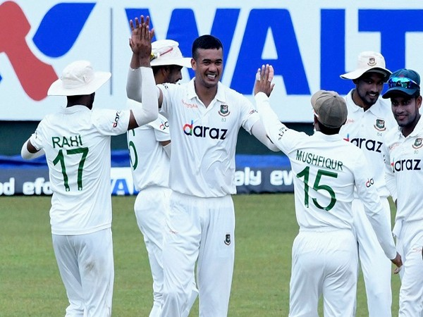 SL vs Ban, 2nd Test: Taskin Ahmed shines but Dickwella's fifty steer host to 469/6 on Day 2